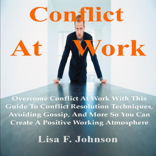 Conflict at Work; audiobook cover art
