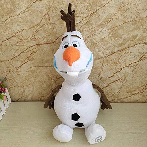 NDYD Juguetes Blandos 30 cm Muñeco de Nieve Olaf Peluche Juguetes Rellenos de Peluche Kawaii Animales de Peluche Suave para niños DSB