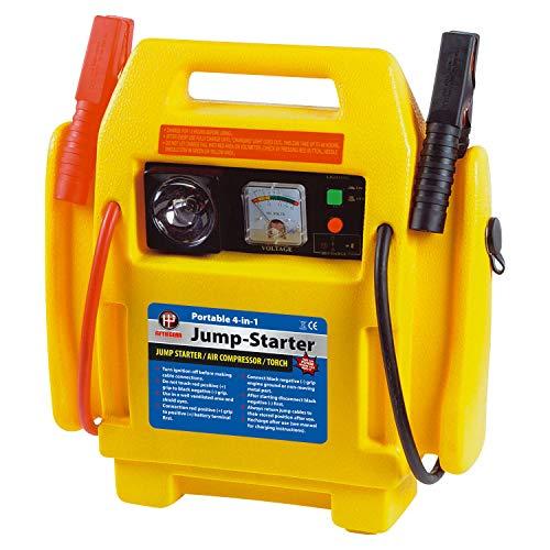 Fifth Gear® 4 in 1 12V Portable Car Jump Starter Air Compressor Battery...