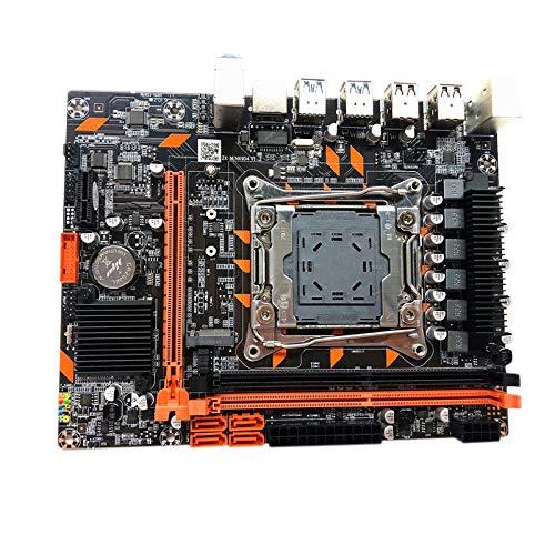 Cobeky X99 Hauptplatine LGA 2011-3 DDR4 Dual Channel UnterstüTzung 2X16G für 2650V3 2678V3 2680V3 2011-V3 Prozessor