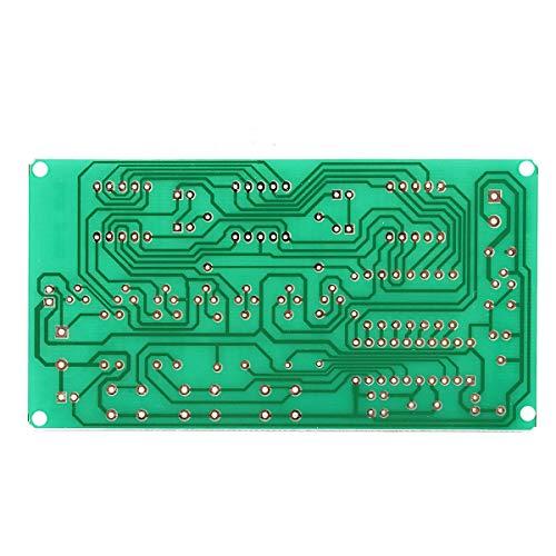Cornelia Pound DIY Elektro-Kit Multifunktions sechs Digitale LED DIY elektronische Uhr Kit 5V-12V AT89C2051
