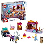 LEGO-Disney Princess L'aventure en calèche d'Elsa  Issu du Film la Reine des Neiges 2 de Disney Jouet Fille et Garçon 4 Ans et Plus, 116 Pièces 41166