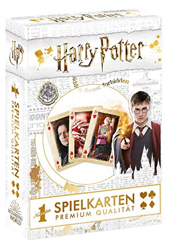 Winning Moves WIN30645 GmbH Harry Potter Spielkarten