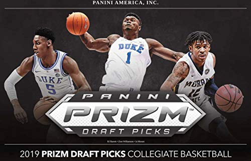 2019/20 Panini Prizm Draft Picks Basketball BLASTER box (28 cards)