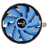 Aerocool VERKHO PLUS, disipador de PC, ventilador 12cm, compatible AMD / Intel