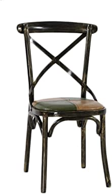 Dining Chairs Vintage Metal Wrought Iron Dining Chair Bar Cafe Chair Kitchen Chair Dining Table and Chairs Dining Room Chairs