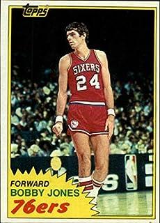 1981-82 Topps #32 Bobby Jones NBA Basketball Trading Card