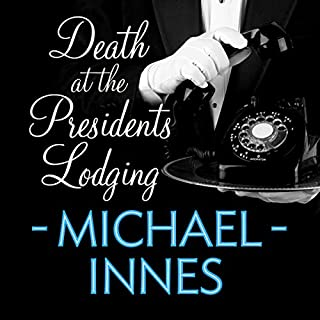 Death at the President's Lodging audiobook cover art