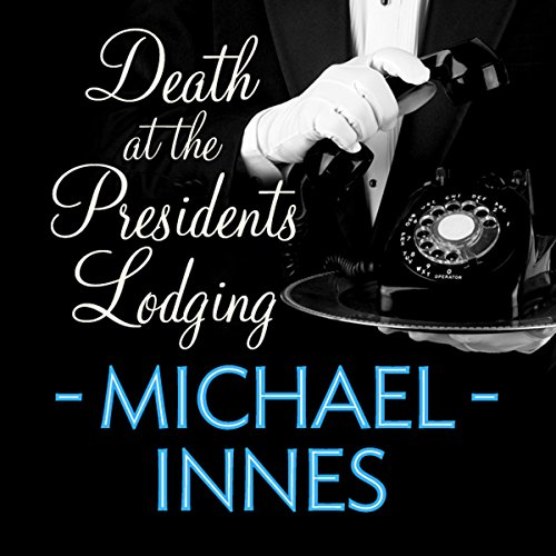 Death at the President's Lodging cover art
