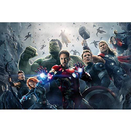WLH- Adult 1000 stukjes houten puzzel 500 Puzzle Children's Educatief speelgoed Gift Avengers 4 Final Battle (Color : E, Size : 500pc)