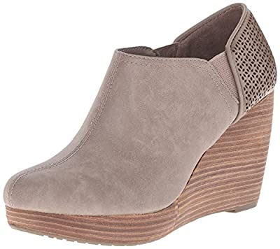 Dr. Scholl's Shoes Women's Harlow Ankle Boot, Taupe, 9.5 M US