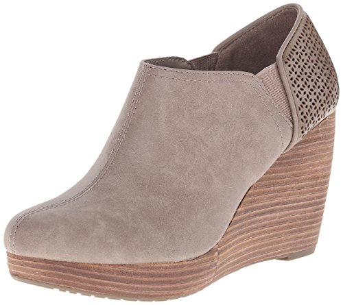 Dr. Scholl's Shoes Women's Harlow Ankle Boot, Taupe, 9 M US