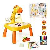 momsiv traccia e disegna proiettore giocattolo, proiettore d'arte, tavolo da disegno per bambini tavolo da proiettore, tavolo da disegno per pittura proiettore ragazze dai 3 anni in su