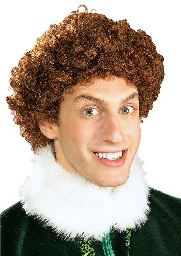 Rubie's Costume Elf Buddy The Elf Wig Brown One Size