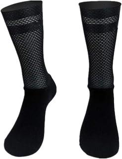 BLOMDE, Calcetines Para Hombre Calcetines Deportivos De Ciclismo De Silicona Antideslizante Pro Team Aero