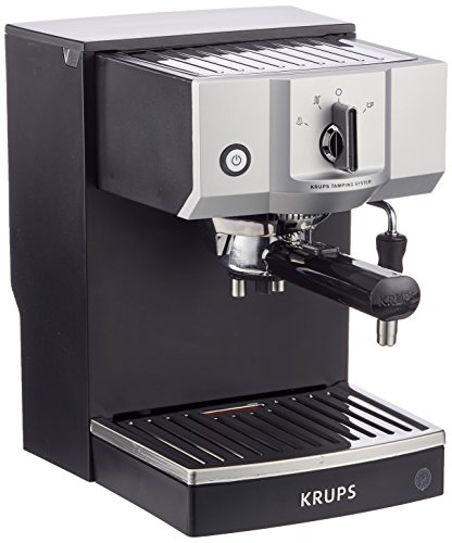 Krups Steam & Pump Máquina De Espresso, 1400 W, Acero Inoxidable