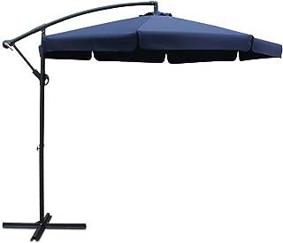 Instahut 3m Garden Outdoor Umbrella-Navy