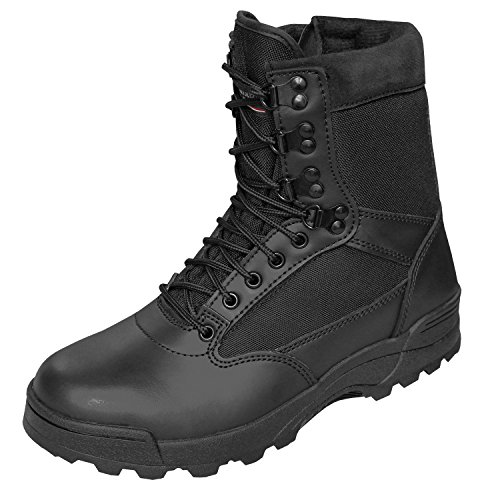 Brandit SWAT Tactical Boot Zipper schwarz - 45