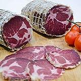 Coppa assaisonné (Capocollo) environ 1,8 kg, produit artisanal, viande 100% italienne, Salumificio Antichi Sapori