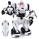 Ydq Robot para NiñOs Toy & Gift,TecnologíAs De Autoequilibrado Y DeteccióN De Movimiento Juguetes para NiñOs Control Remoto,Sound Control Robot Inteligente Interactivo