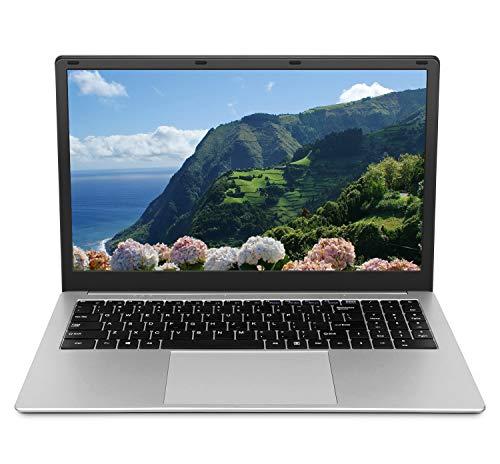 Windows Laptop 15.6 inch (8GB RAM 128GB SSD Storage 1920x1080 FHD Display Intel Celeron CPU Quad...