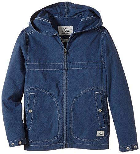 Quiksilver Jungen Parka Warwich Youth B Jacket, Dark Denim, S