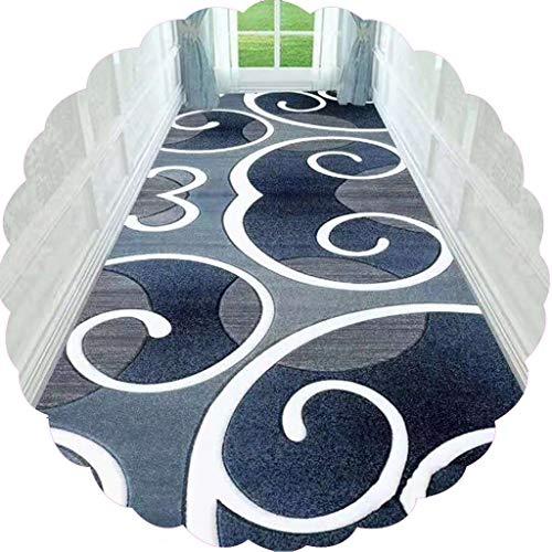BETTKEN Alfombra Pasillo con Antideslizante Apoyo Entrada Estera por Alfombra Corredor Cocina Dormitorio Fácil Limpiar Alfombras de baño (Color : A, Size : 0.4x0.6m)