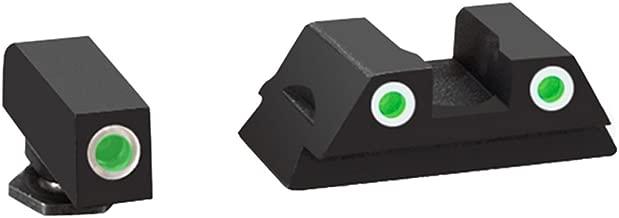 AmeriGlo Glock 43 and 43 3 Dot Tritium Set Front/Rear Classic Sight
