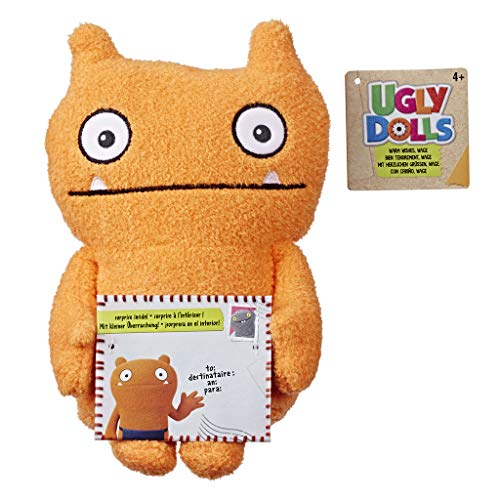 Ugly Dolls - Peluche Tierno Wage (Hasbro E4554EL2)