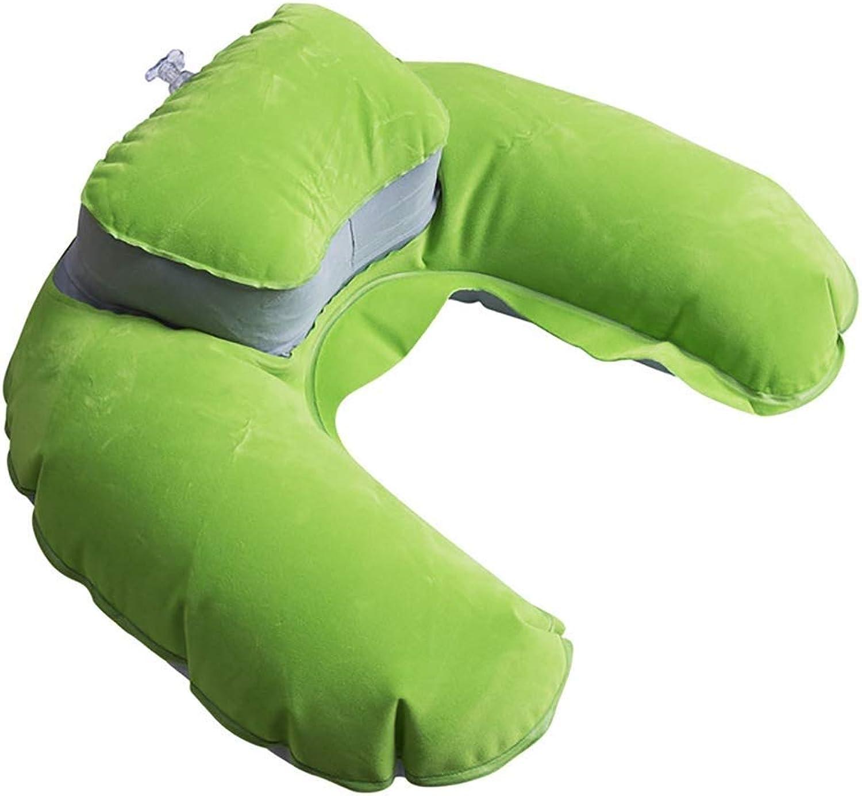Cervical Massage Pillow,U Shape Neck Pillow,Neck Head Rest Air Soft Cushion for Travel Plane,Travel & Neck Pillow