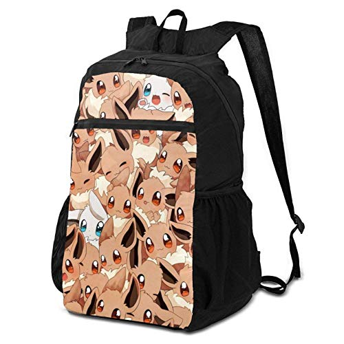 Cute E-E-Vee Pet Travel Laptop Backpack, Folding Backpack for Men