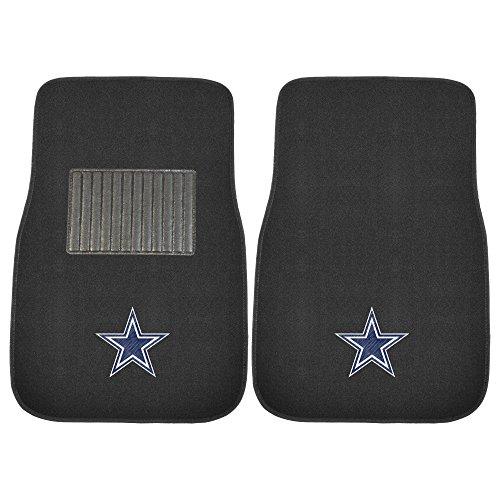 FANMATS 10316 NFL Dallas Cowboys 2-Piece Embroidered Car Mat