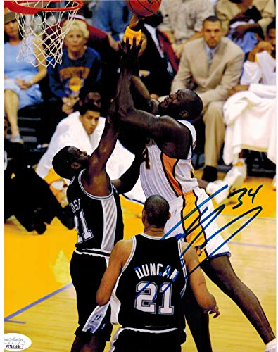 Shaquille O'Neal Signed 8x10 Autographed Photograph American Basketball Player