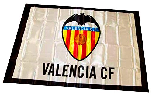 Valencia CF 01bad02 vlag, wit/oranje, eenheidsmaat