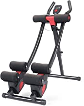 WCXSS- Abdominal Trainers Wonder Core AB Machine Star Uno AB Coaster - Doble Riel Curvo - Pantalla Led De Pantalla