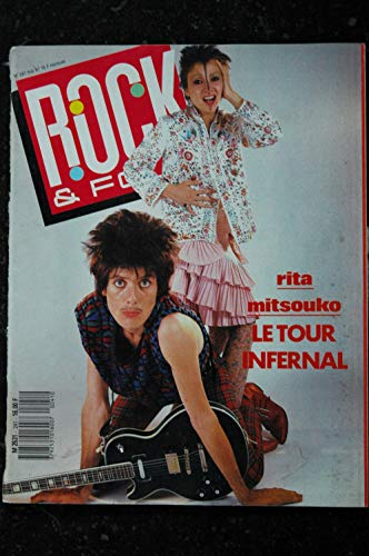 ROCK & FOLK 241 1987 COVER Rita MITSOUKO INXS MarkKing Dolly Parton Linda Ronstadt
