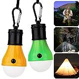 KOROSTRO LED Campinglampe, Camping Lampe LED Light Bright Tragbare Zeltlampe Glühbirne Set-Notlicht Wandern Nachtangeln Notlicht für bewegliche, Birne, Außen/Oder Innen...