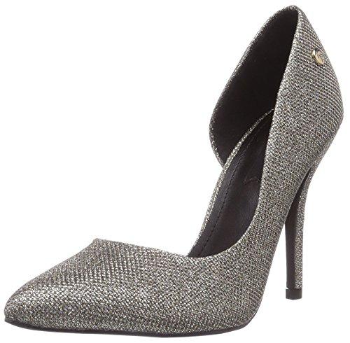 Blink BL 698, Chaussures à Talons - Avant du Pieds Couvert Femme - Or - Gold (gold103), 41 EU