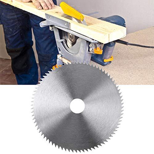 A0127 Hoja de sierra circular de acero ultrafina de 5 pulgadas, 125 mm de diámetro, 20 mm de diámetro, disco de corte para madera