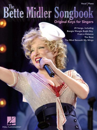 The Bette Midler Songbook - Original Keys for Singers (English Edition)