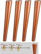 DX Meubelpoten Tafelpoten Bank Benen Bench Benen Vervanging Poten, Bouten met Voorgeboorde M6 M8 M10 voor Slaapbank, Kabin...