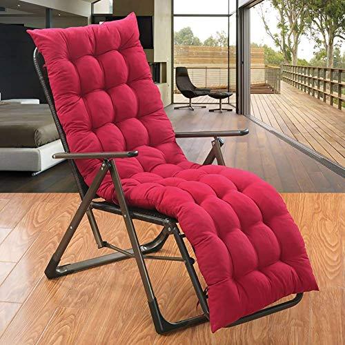 CYQ Cojines de jardín para sillones, sillas de Patio con Respaldo Alto, Chaise Lounge Grueso para Interiores y Exteriores, Mecedora