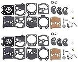 Kit de reparación de carburador K10-WAT para Walbro Carb Poulan Craftsman para motosierras de repuesto de carburador