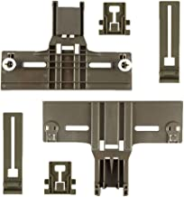 6Pack Upgraded Dishwasher Top Rack Adjuster W10350376(2) W10195839(2) W10195840(2) for kenmore elite, kitchen aid, 0.9 In ...