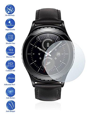 Todotumovil Protector de Pantalla Samsung Galaxy Gear S2 / 2 de Cristal Templado Vidrio 9H para movil
