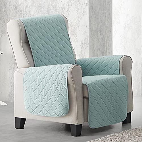 Lanovenanube Funda sillón Acolchado Sweet - Práctica - 1 Plaza - Color Menta