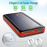 Zoom IMG-1 sweye power bank solare 26800mah