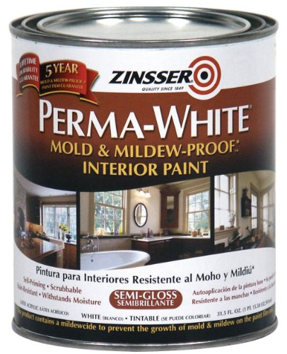 RUST-OLEUM 02754 White Perma Interior Paint, 32 Fl Oz (Pack of 1)