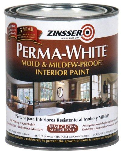RUST-OLEUM 02754 2754 Interior Paint, 1 Quart, White