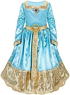 Disney Store Brave Princess Merida Formal Costume Dress Size Medium 7/8